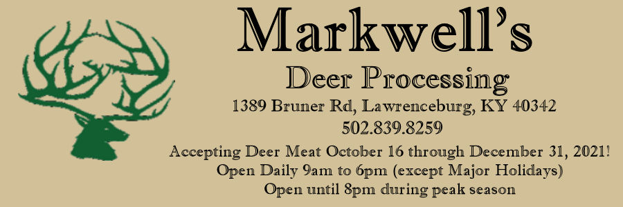 Markwell Deer Processing